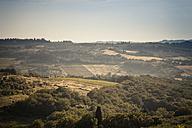 Italy, Tuscany, San Casciano in Val di Pesa, rolling landscape - SBDF001132