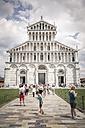 Italy, Tuscany, Pisa, Piazza dei Miracoli, Cathedral Santa Maria Assunta - SBD001101