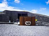 Spain, Canary Islands, La Palma, Los Canarios, Fuencaliente, Entrance to the Crater of Volcano San Antonio - AM002581