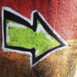 Graffiti arrow - GSF000887