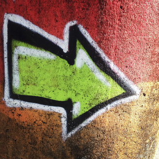 Graffiti arrow - GSF000887
