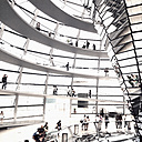 Germany, Berlin, dome of the Reichstag - SE000803