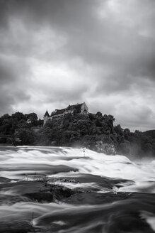 Switzerland, Canton of Schaffhausen, Schaffhausen, Rhine falls with Laufen Castle - EL001206