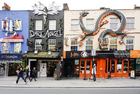 UK, London, Camden, shops and a restaurant at Camden High Stree - WE000183