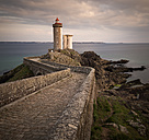 France, Brittany, Phare du Petit Minou in the evening - MKFF000033