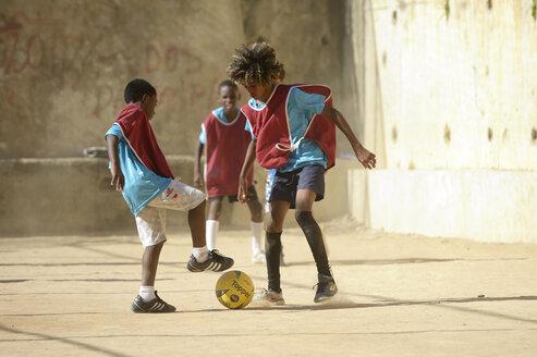 Brazil, Rio de Janeiro, Favela Guararape, soccer tournament - FLK000375