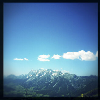 Austria, mountainscape, view from Hauser Kaibling - DISF000907