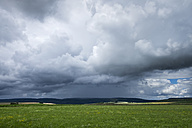 Germany, Constance district, thunderclouds over Black Forest - ELF001232