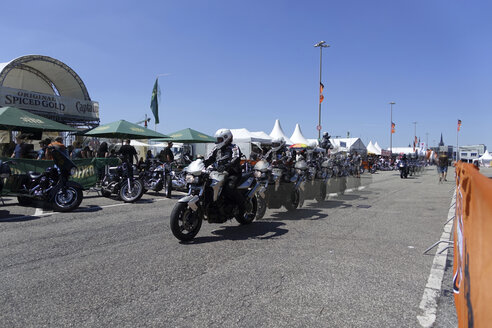 Germany, Hamburg, Harley Davidson Event - JWA000179