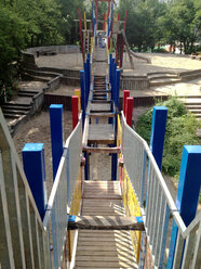 Climbing frame at playground in Berlin, Germany - ZM000389
