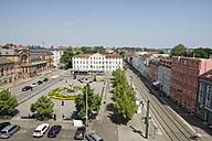 Germany, Schwerin, station square - MY000505