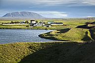 Iceland, Skutustadir, Myvatn, Krafla-volcanic area, pseudocrater - FCF000317
