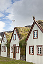Iceland, houses of Laufas museums farm - FC000349