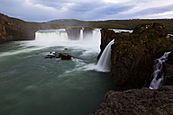 Iceland, view to waterfall Godafoss - FCF000351