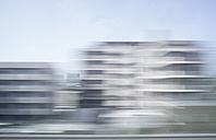 Japan, Tokyo, view to skysrapers, long exposure - FL000464