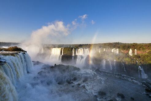 South America, Brazil, Parana, Iguazu National Park, Iguazu Falls - FOF006663