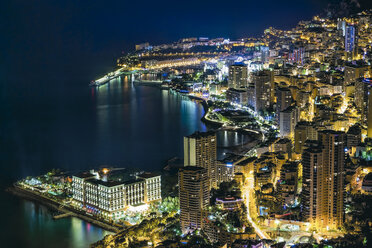 Monaco, Monte Carlo at night - DAWF000086