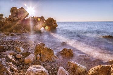France, Alpes-Maritimes, coast at Cap d'Ail - DAWF000081