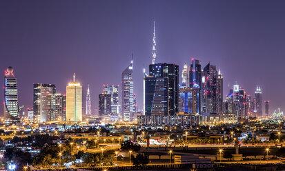 United Arab Emirates, Dubai at night - DAWF000090