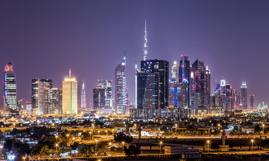 United Arab Emirates, Dubai at night - DAWF000090