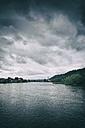 Switzerland, Thurgau, view over Rhine River to Stein am Rhein - ELF001250
