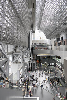 Japan, Kyoto, station concourse - HL000660