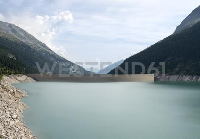 Austria, Tirol, Zillertal, Schlegeis-reservoir - MKFF000063