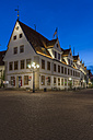 Germany, Lower Saxony, Celle, Old townhall, Blue hour - PVC000071