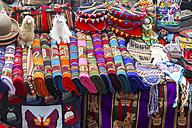 South America, Peru, Some peruvian handcrafted souvenirs - KRP000684