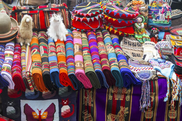 South America, Peru, Some peruvian handcrafted souvenirs - KRP000684