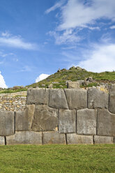 South Amercia, View of the ruins of Saksaywaman in Cusco - KRPF000696
