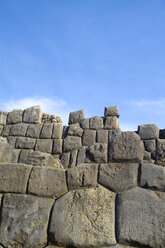 South Amercia, View of the ruins of Saksaywaman in Cusco - KRPF000699