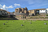 South America, Peru, Cusco, Qurikancha Temple - KRP000676