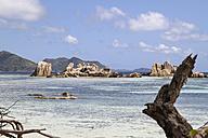 Seychelles, La Digue Island, Beach - KRPF000734