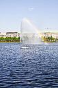 Germany, Hamburg, Inner Alster Lake and Alster fountain - KRPF000964