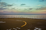 Norway, helipad on a ferry - NGF000128