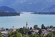 Austria, Salzkammergut, Salzburg State, Lake Wolfgangsee, St. Gilgen - SIE005760