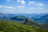 Norway, Alesund, mountainscape - NGF000219