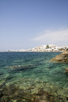 Greece, Cyclades, Naxos City and harbour - KRPF000866