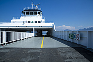 Norway, navigating bridge on a ferry - NG000139