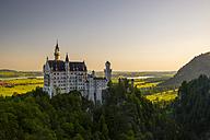 Germany, Bavaria, Swabia, Allgaeu, East Allgaeu, Schwangau, Hohenschangau, Neuschwanstein Castle - WGF000413
