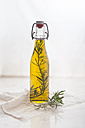 Rosemary oil, rosemary twig in olive oil - SBDF001146