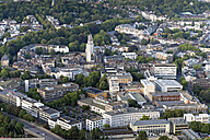 Germany, North Rhine-Westphalia, Aachen, Aerial view of the city center - HL000650