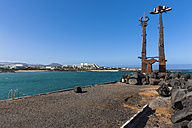 Spain, Canary Islands, Lanzarote, work of art Las Cucharas at Costa Teguise - AM002674