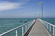 Australia, South Australia, Beachport, jetty in the Rivoli Bay - MIZ000549