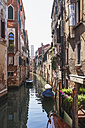 Italy, Veneto, Venice, Old town, Canal and old houses - GWF003303