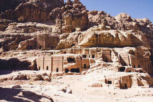 Jordan, Petra, Street of Facades - FL000491