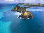 Caribbean, St. Lucia, Cap Estate, Pigeon Island National Park and Fort Rodney - AMF002652