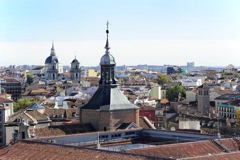 Spain, Madrid, historic city center, Iglesia Castrense church - MIZ000620