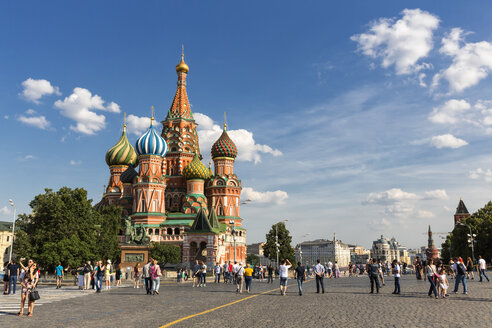 Russia, Moscow, Saint Basil's Cathedral - FOF006709